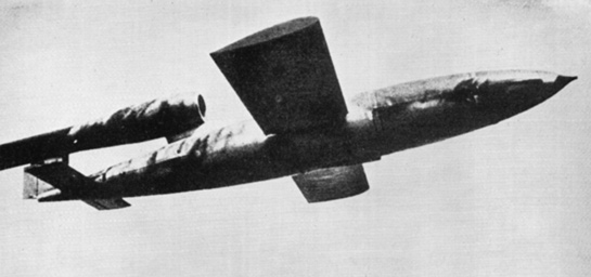German 'Doodlebug' - V1 Flying Bomb