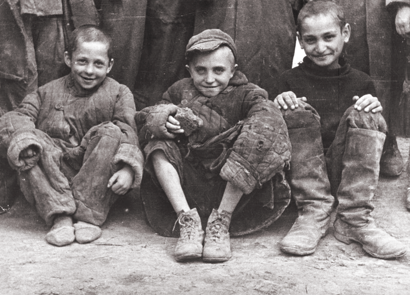 Polish children released by the Soviets